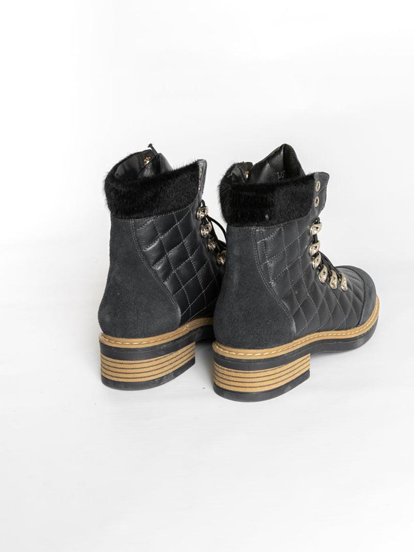 Ботинки темно-синие | 4822508 | фото 2