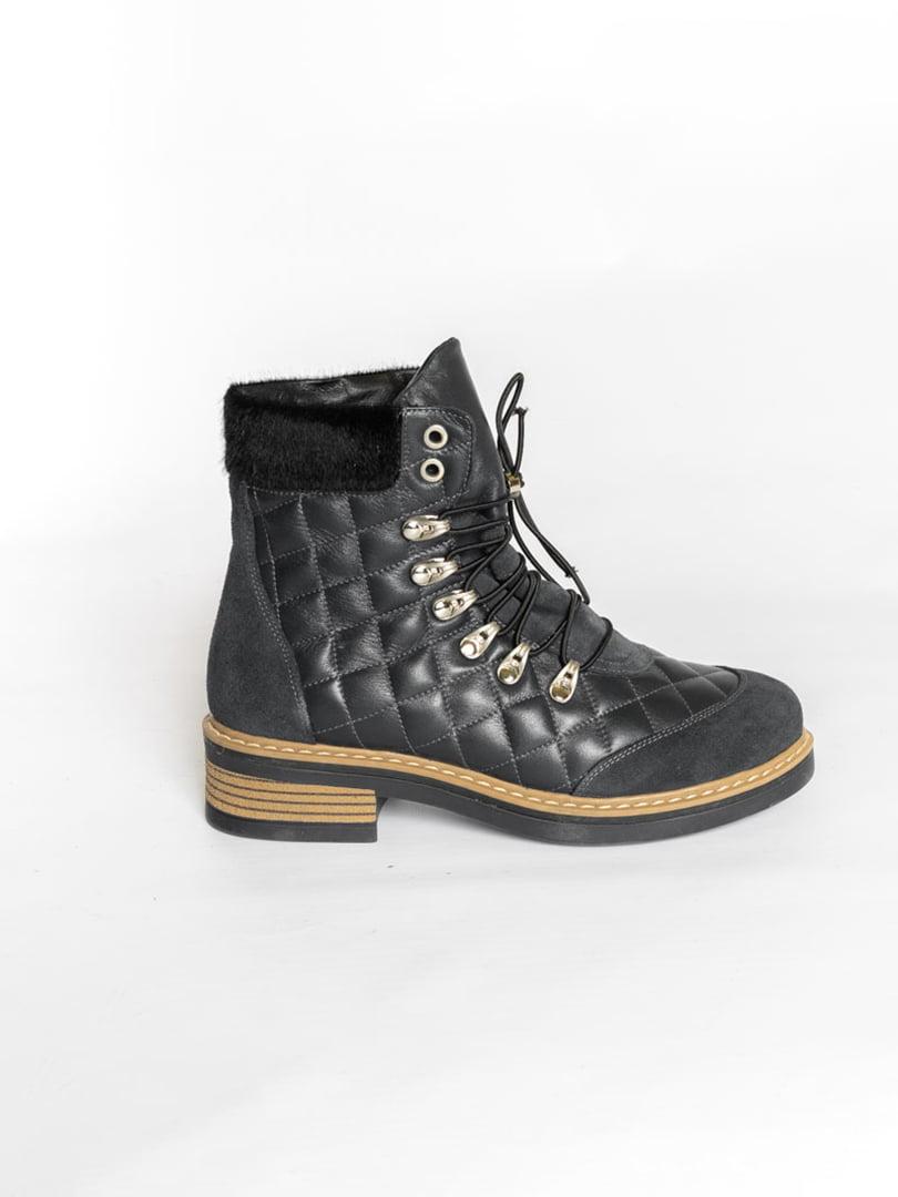 Ботинки темно-синие | 4822508 | фото 3