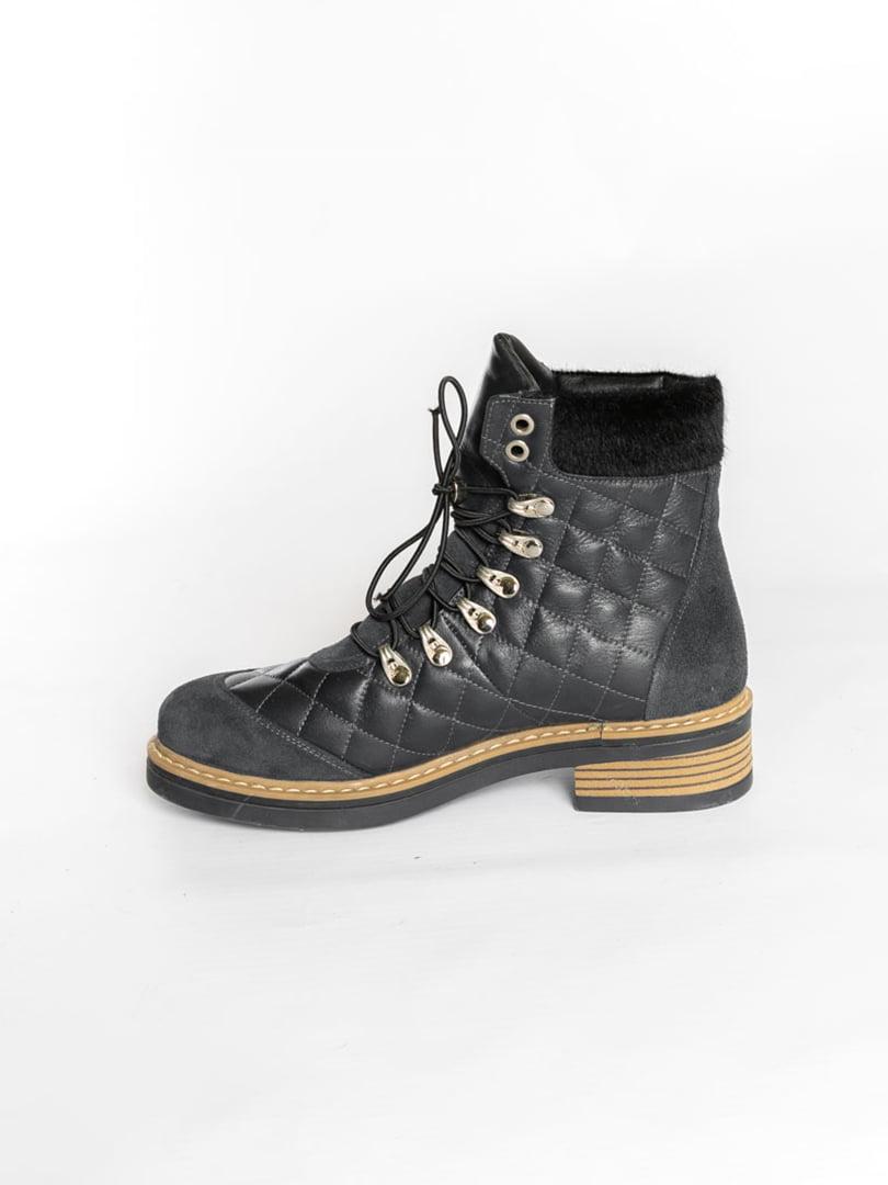 Ботинки темно-синие | 4822508 | фото 4