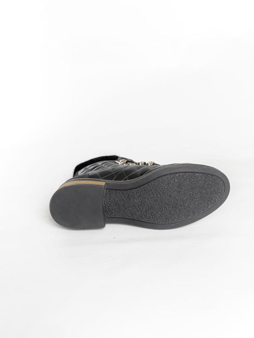 Ботинки темно-синие | 4822508 | фото 5