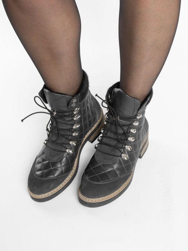 Ботинки темно-синие | 4822508 | фото 6