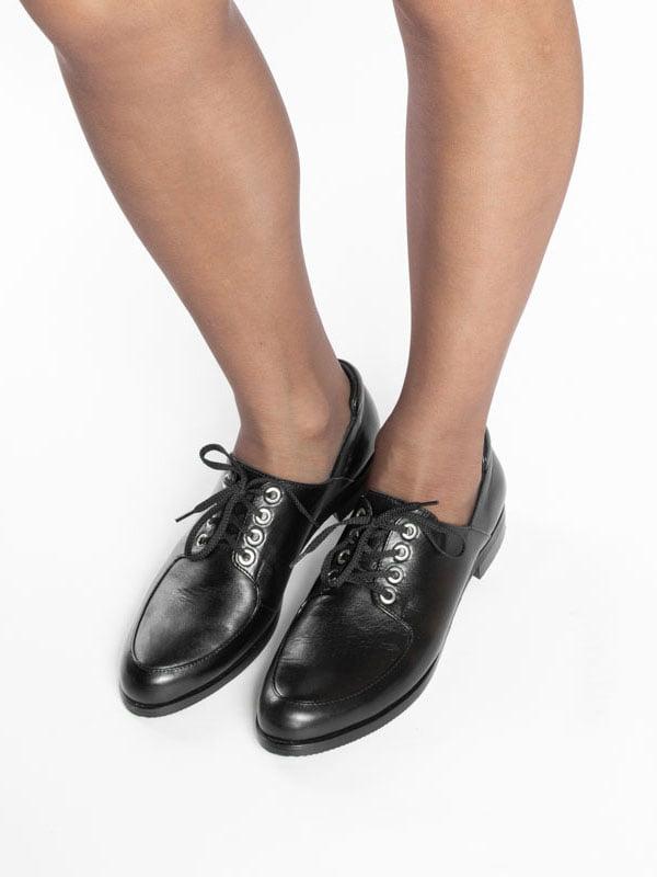 Туфли черные | 4822516 | фото 5