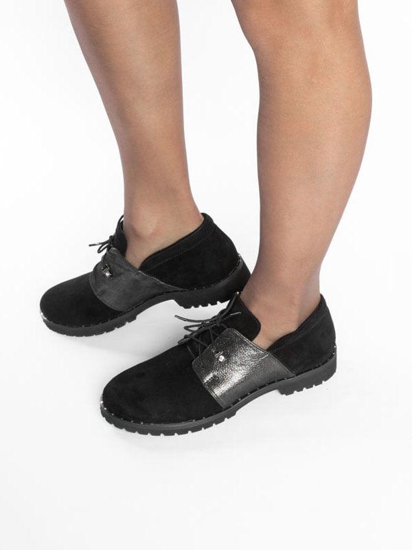 Туфли черные | 4822521 | фото 5