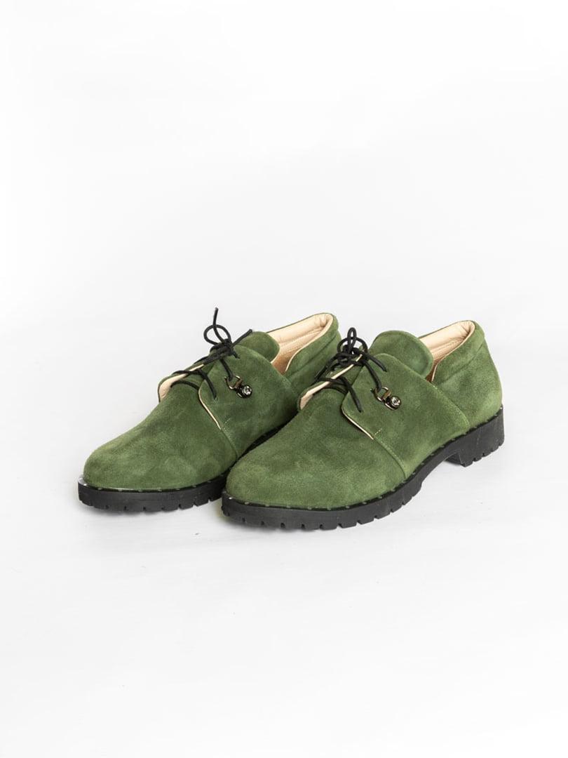 Туфли зеленые | 4822523