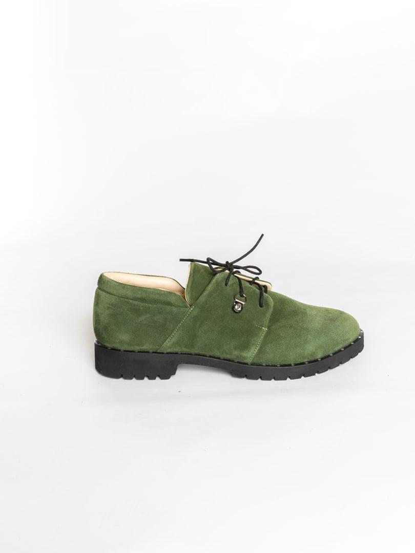 Туфли зеленые | 4822523 | фото 3