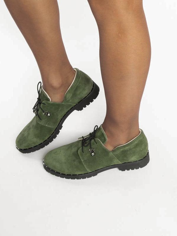 Туфли зеленые | 4822523 | фото 7