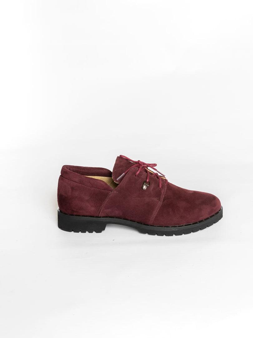Туфли бордовые | 4822524 | фото 3