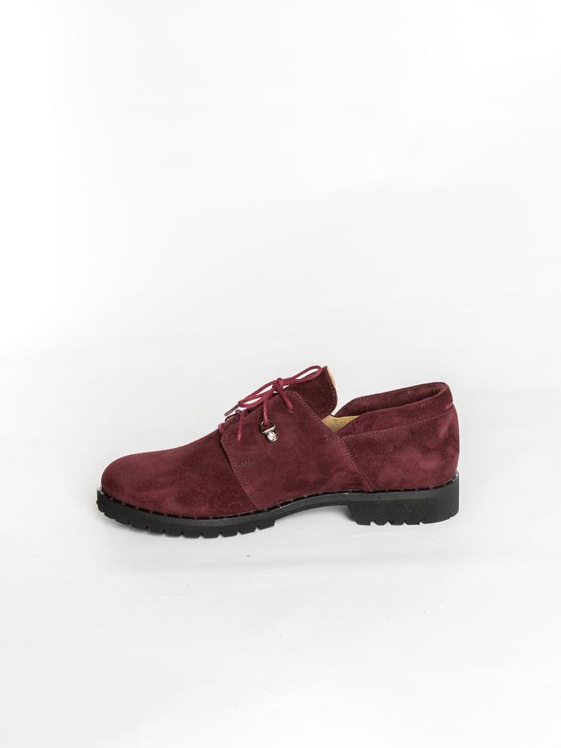 Туфли бордовые | 4822524 | фото 4
