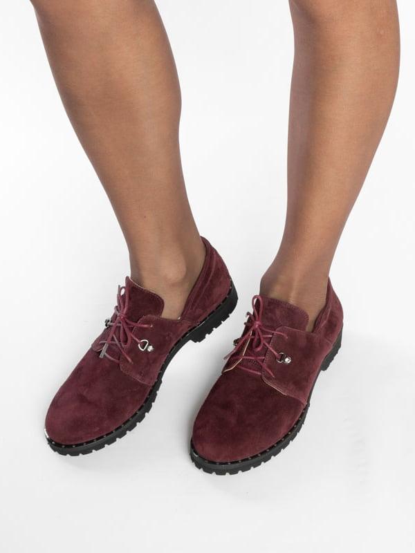 Туфли бордовые | 4822524 | фото 6