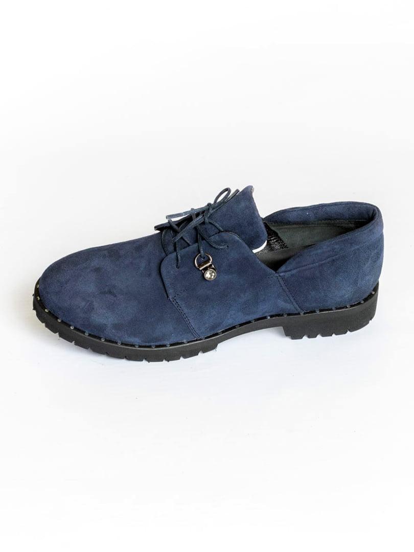 Туфли синие | 4822526 | фото 3