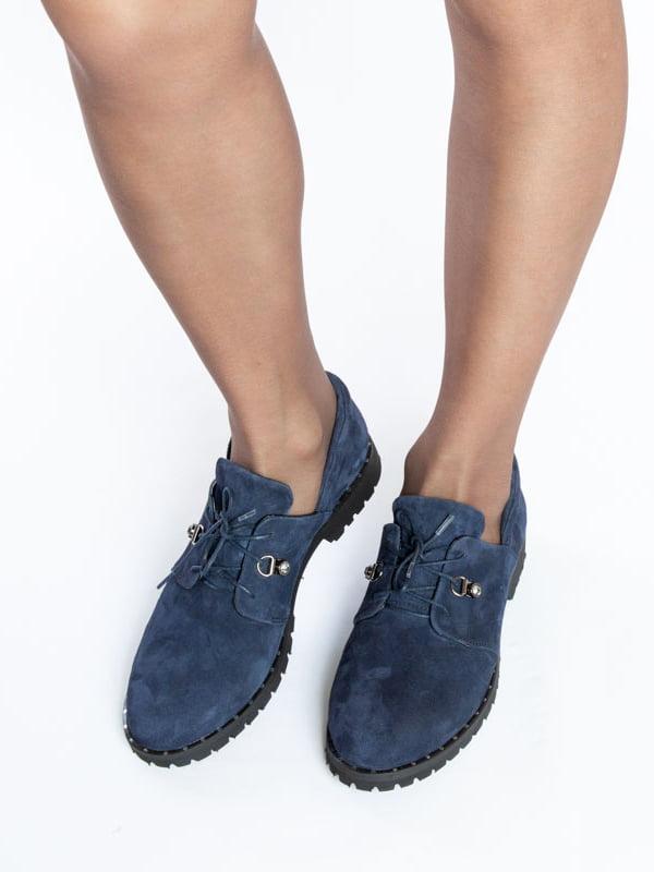 Туфли синие | 4822526 | фото 4