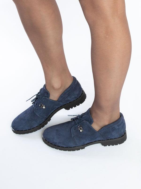 Туфли синие | 4822526 | фото 5