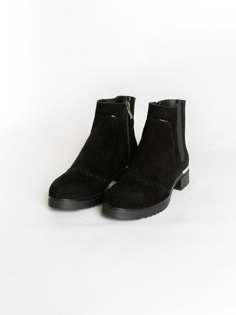 Ботинки черные | 4822532