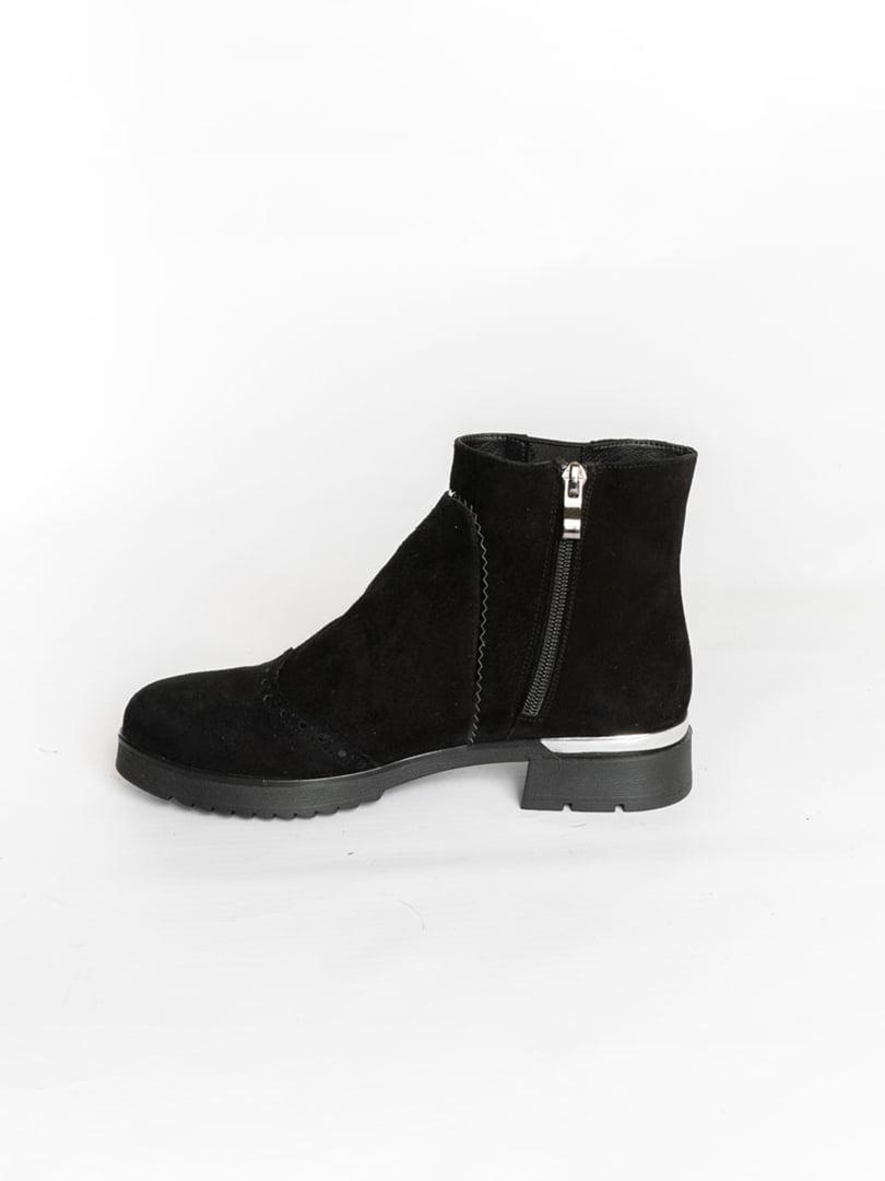 Ботинки черные | 4822532 | фото 4