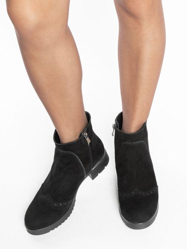 Ботинки черные | 4822532 | фото 6