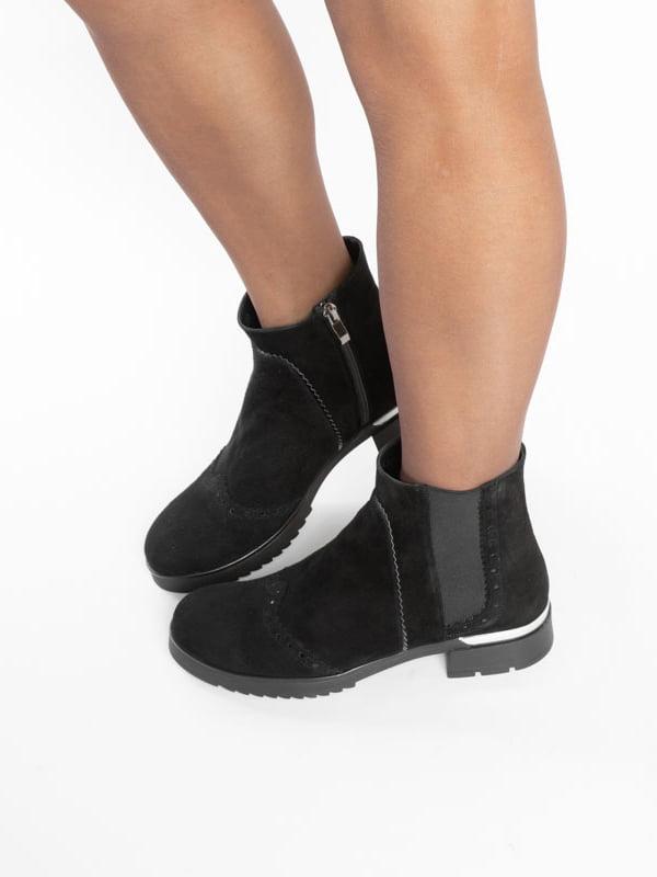 Ботинки черные | 4822532 | фото 7