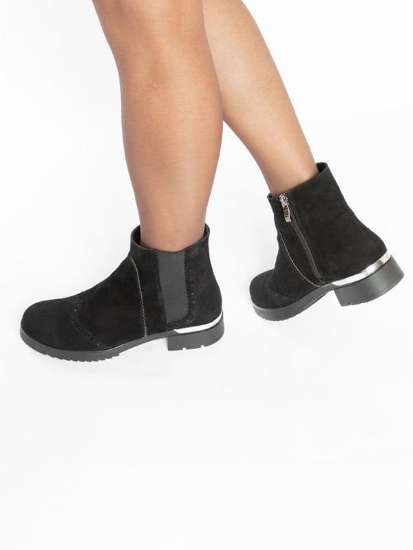 Ботинки черные | 4822532 | фото 8