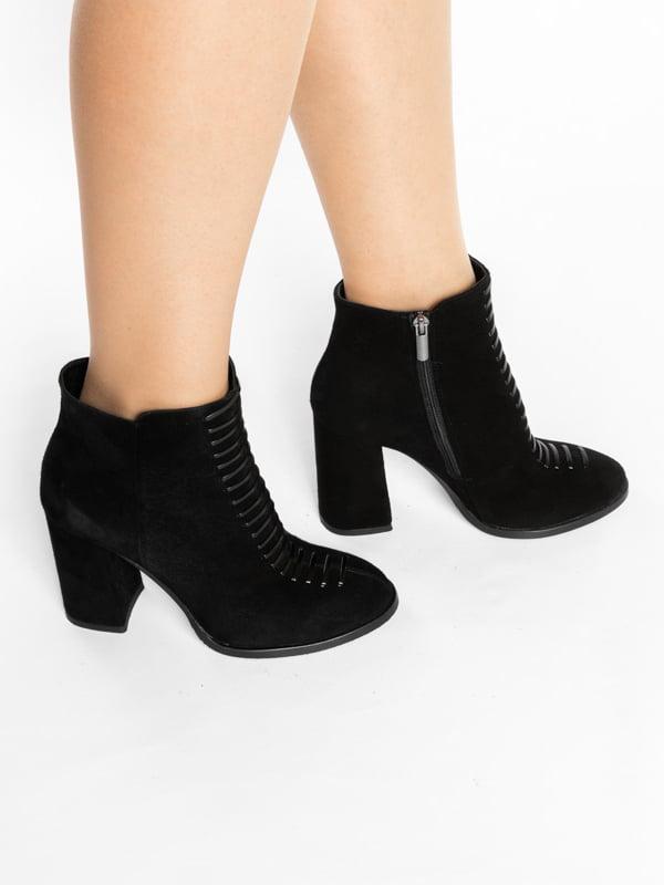 Ботинки черные | 4822533 | фото 8