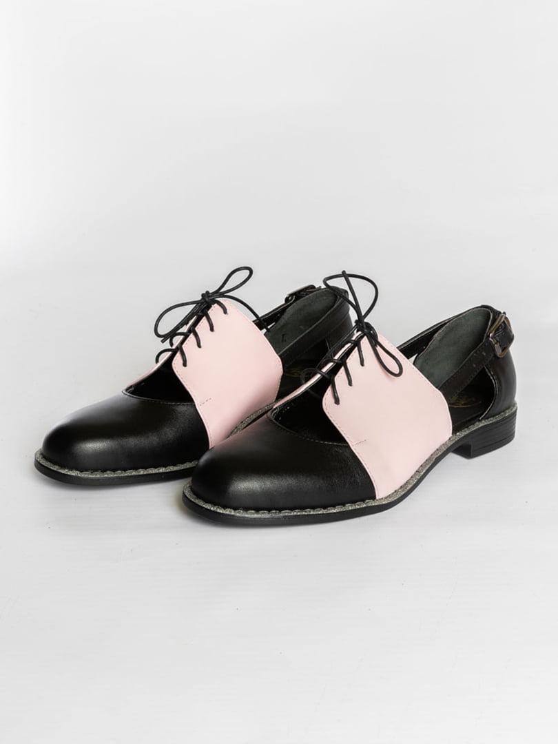 Туфли двухцветные   4822550