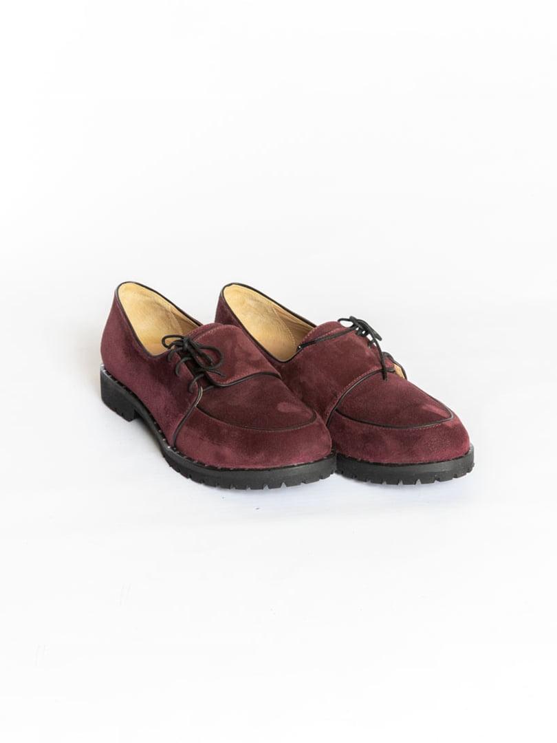 Туфлі бордові | 4822553