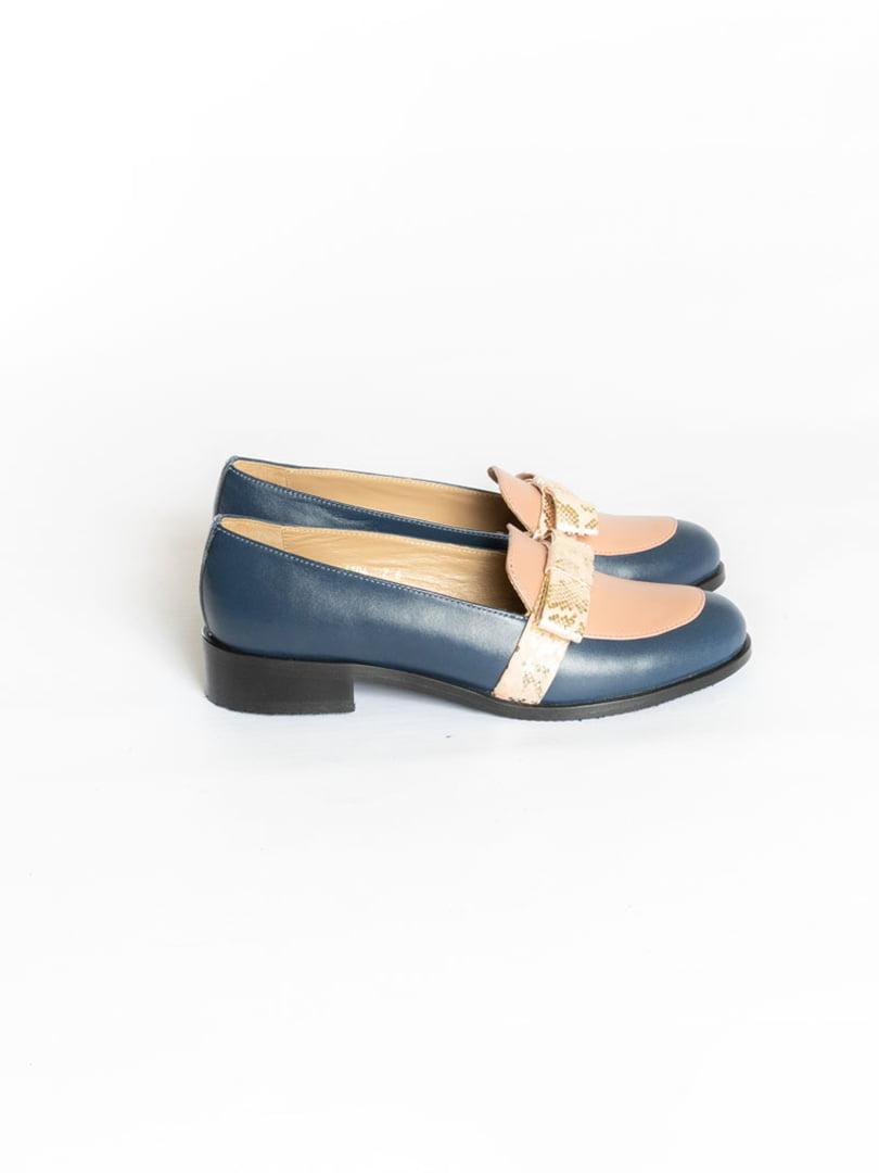 Туфли синие | 4822555 | фото 2