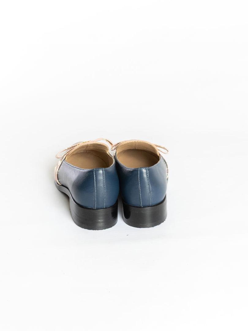 Туфли синие | 4822555 | фото 3