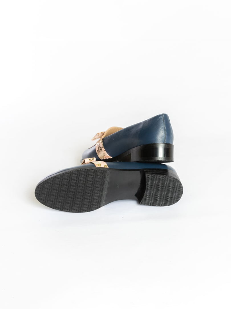 Туфли синие | 4822555 | фото 4