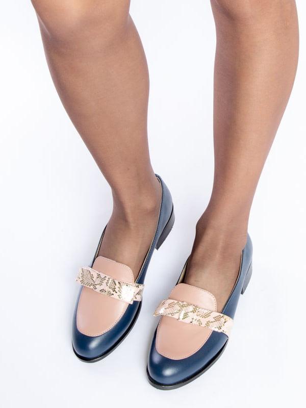 Туфли синие | 4822555 | фото 5