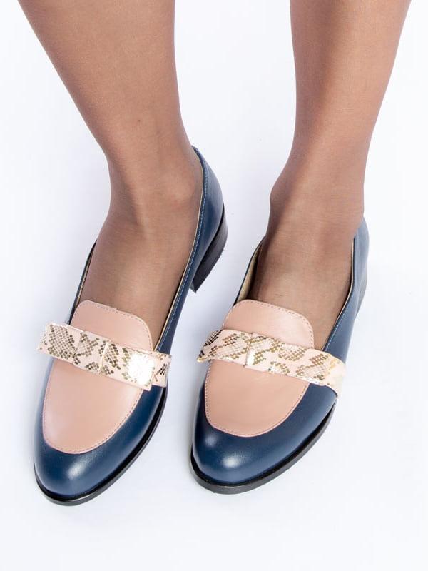 Туфли синие | 4822555 | фото 6