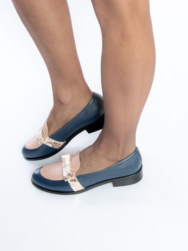 Туфли синие | 4822555 | фото 7