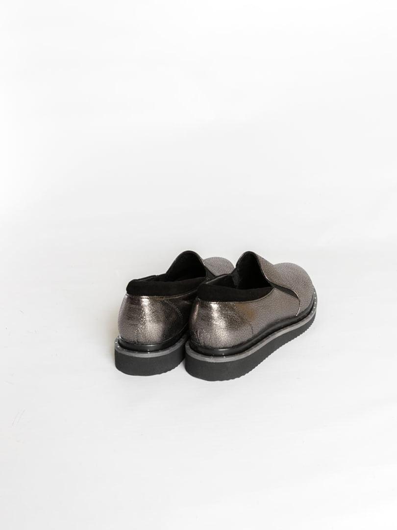 Туфли серебристого цвета | 4822563 | фото 2
