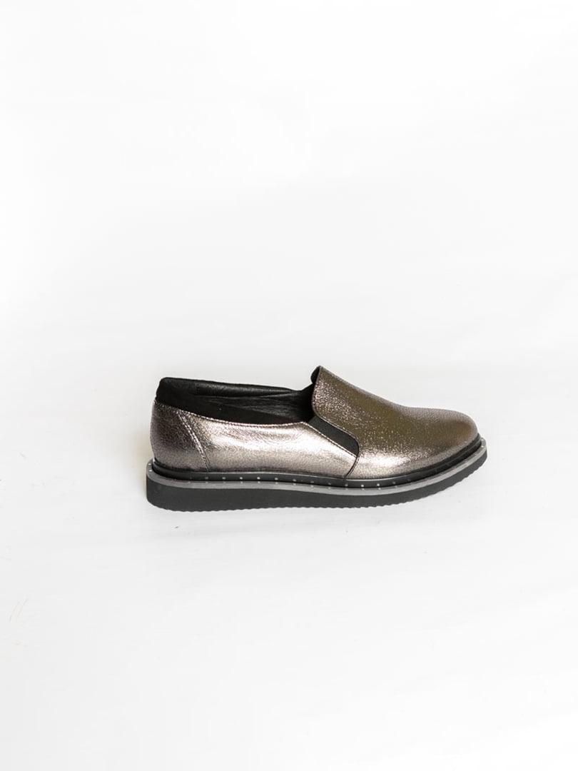 Туфли серебристого цвета | 4822563 | фото 3