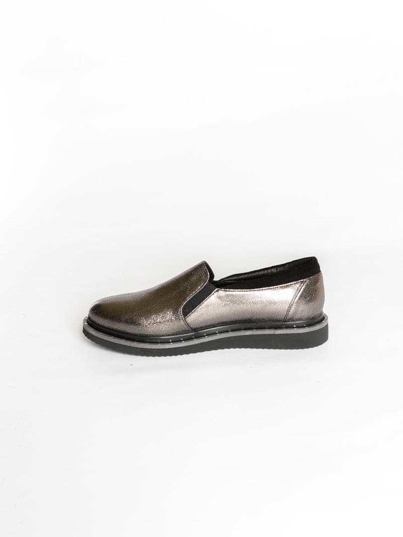 Туфли серебристого цвета | 4822563 | фото 4