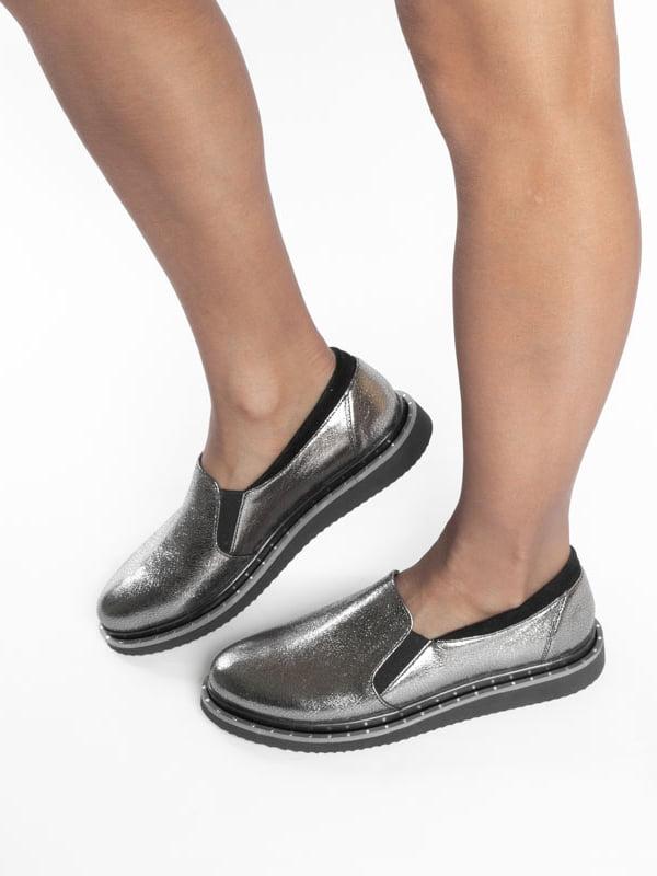 Туфли серебристого цвета | 4822563 | фото 8