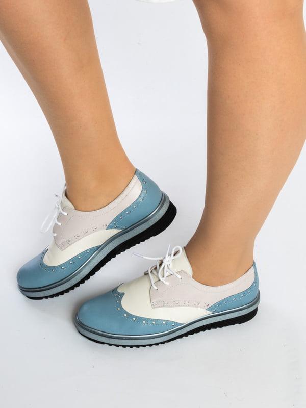 Туфли двухцветные   4822564   фото 2