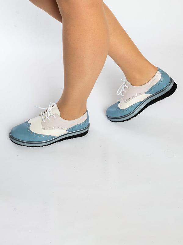 Туфли двухцветные   4822564   фото 3