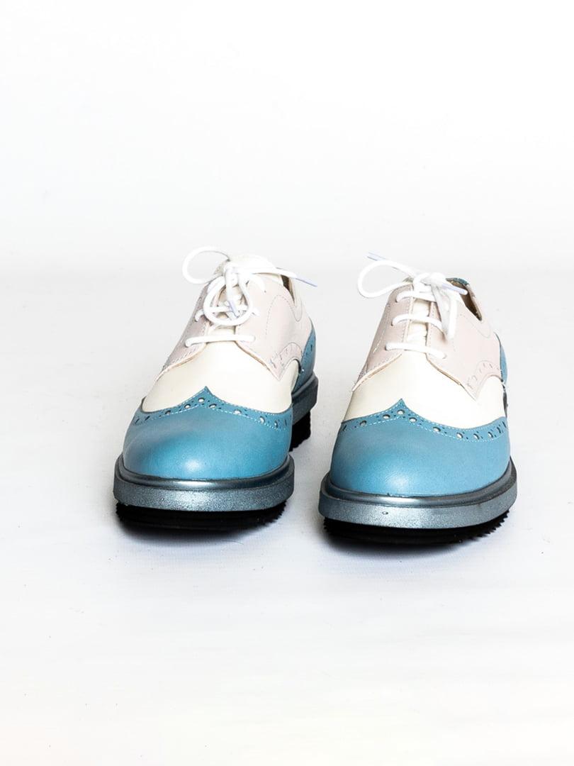 Туфли двухцветные   4822564   фото 4