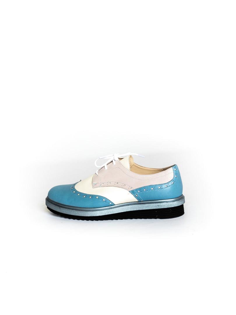 Туфли двухцветные   4822564   фото 7