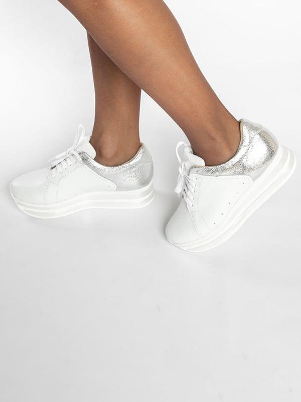 Кроссовки двухцветные | 4822566 | фото 7