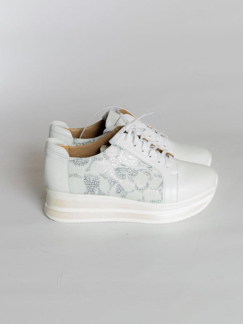 Кроссовки белые | 4822567 | фото 2