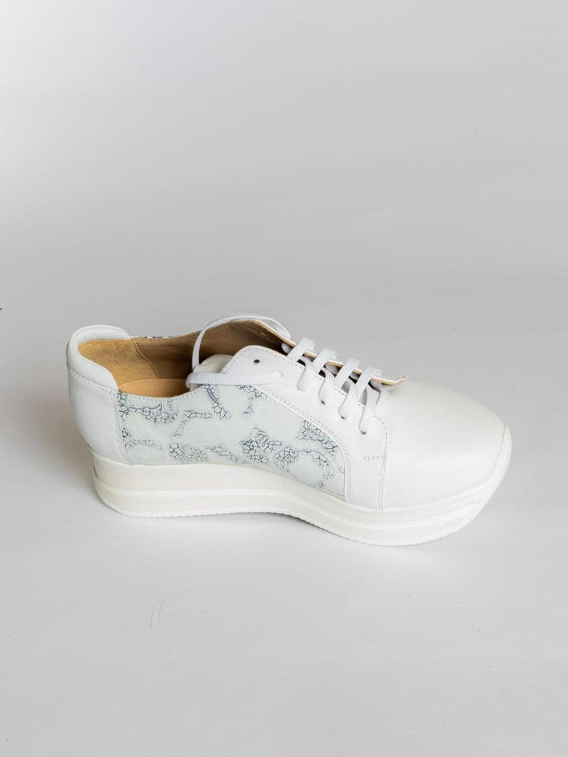 Кроссовки белые | 4822567 | фото 4