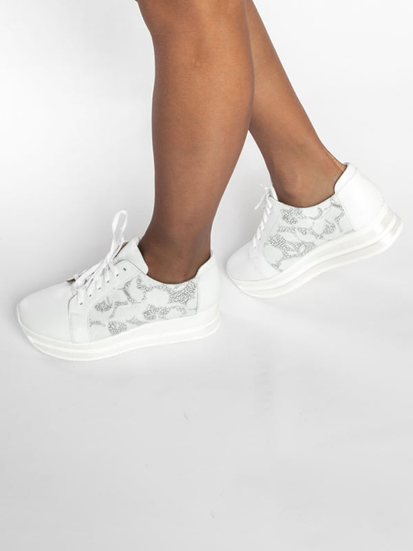 Кроссовки белые | 4822567 | фото 6
