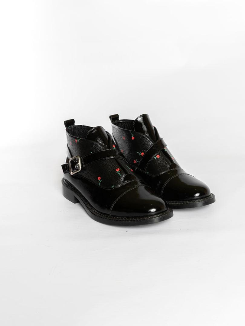 Ботинки черные | 4822578