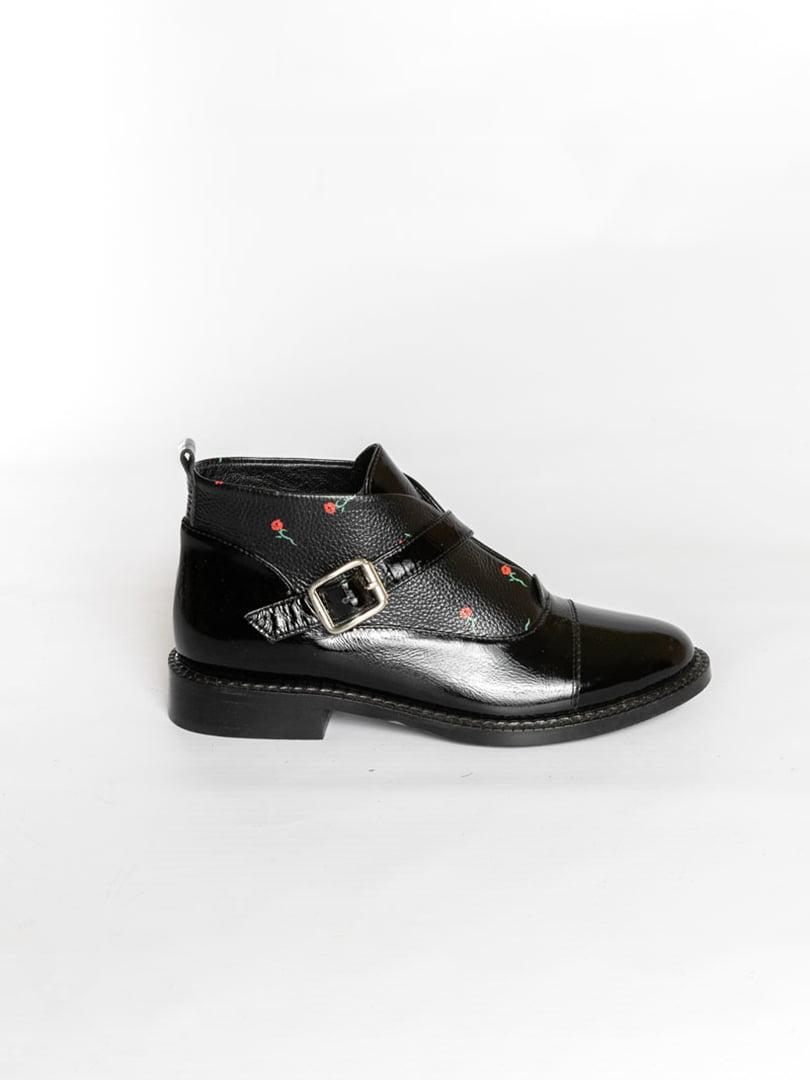 Ботинки черные | 4822578 | фото 3