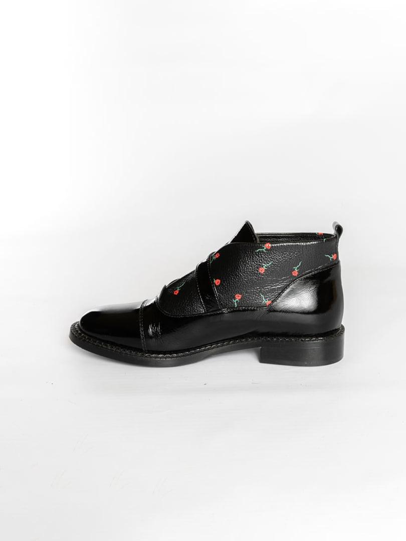 Ботинки черные | 4822578 | фото 4
