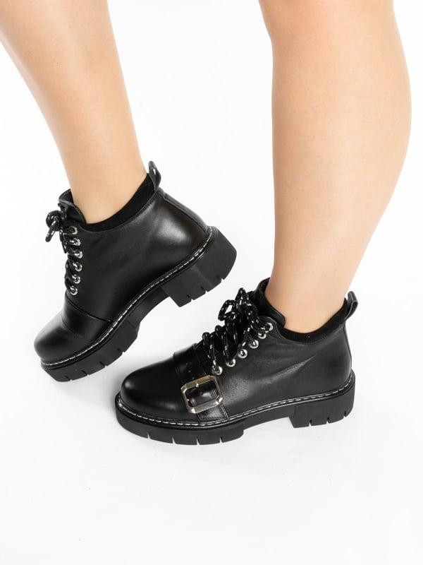 Ботинки черные | 4822584 | фото 2