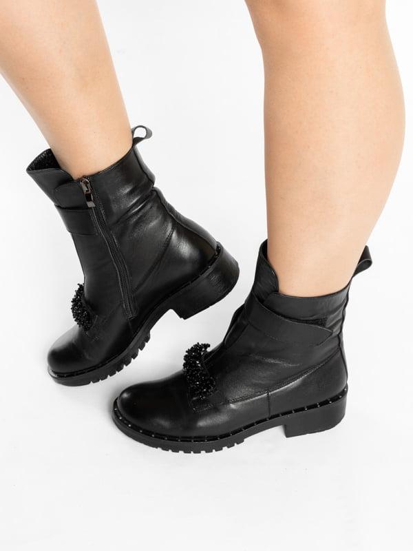 Ботинки черные | 4822586 | фото 2