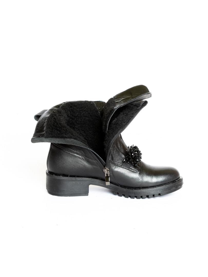 Ботинки черные | 4822586 | фото 6