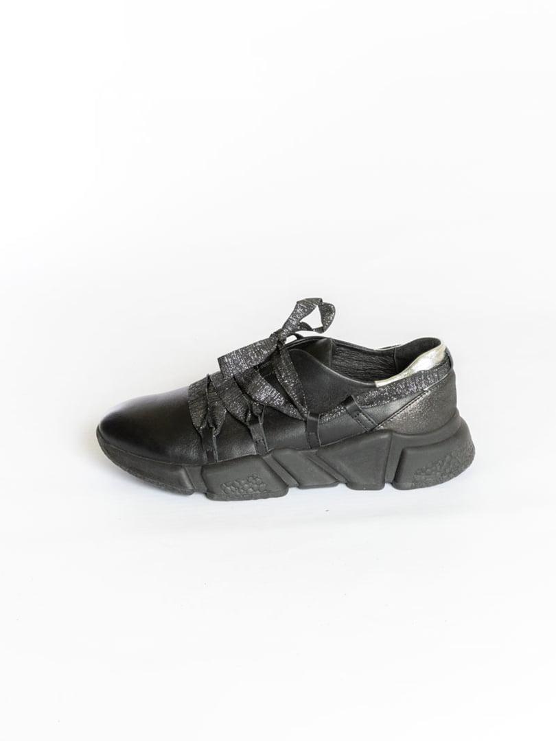 Кроссовки черные | 4822597 | фото 3