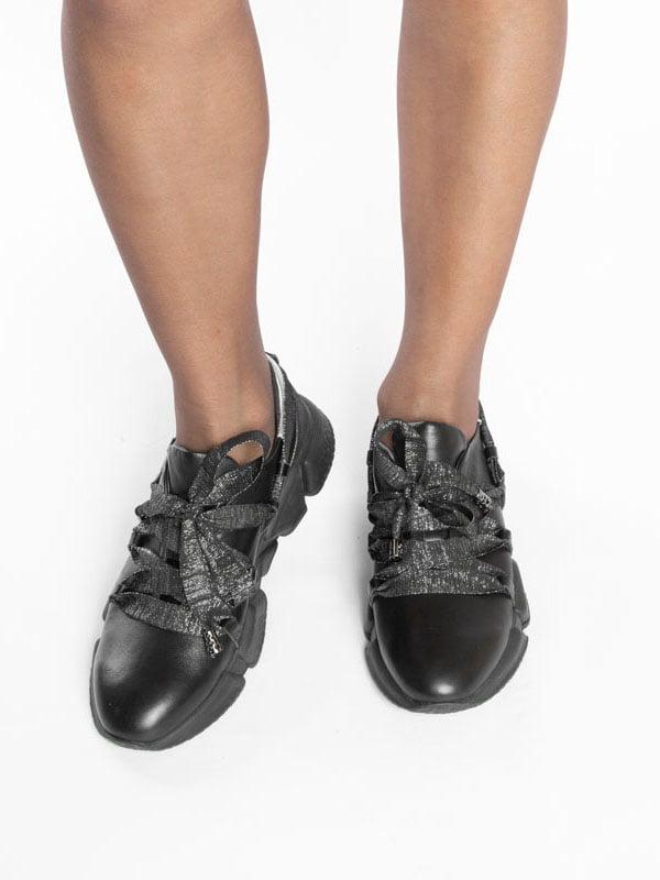 Кроссовки черные | 4822597 | фото 6